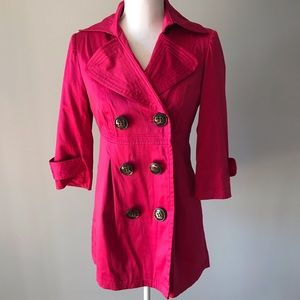 XOXO Jacket Hot Pink Size Small